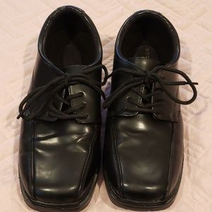 Boys dress shoes by Sonoma